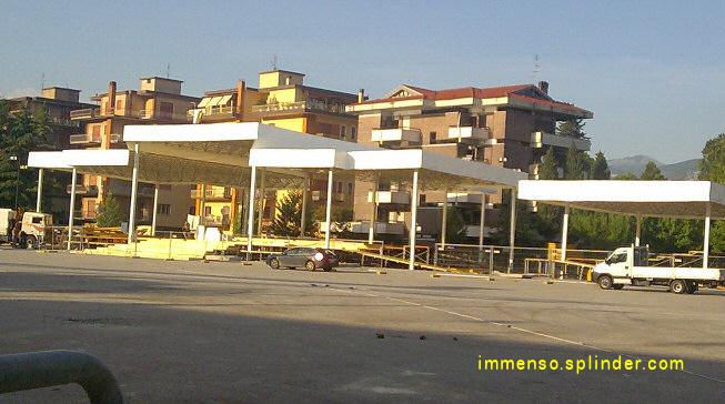 piazza Ex Campo Miranda - il papa a Cassino