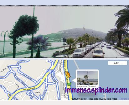 Google Street View a Gaeta