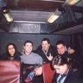 vecchio autobus cotral sedili rossi