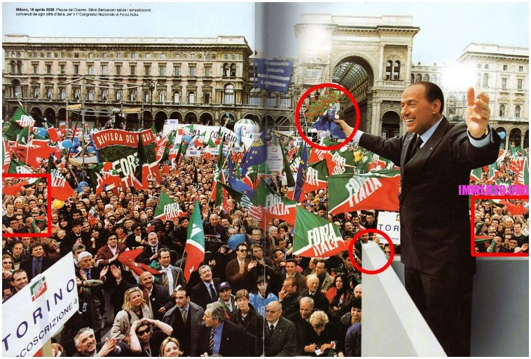 silvio berlusconi photoshop venuto male