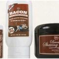 prodotti strani a base di bacon