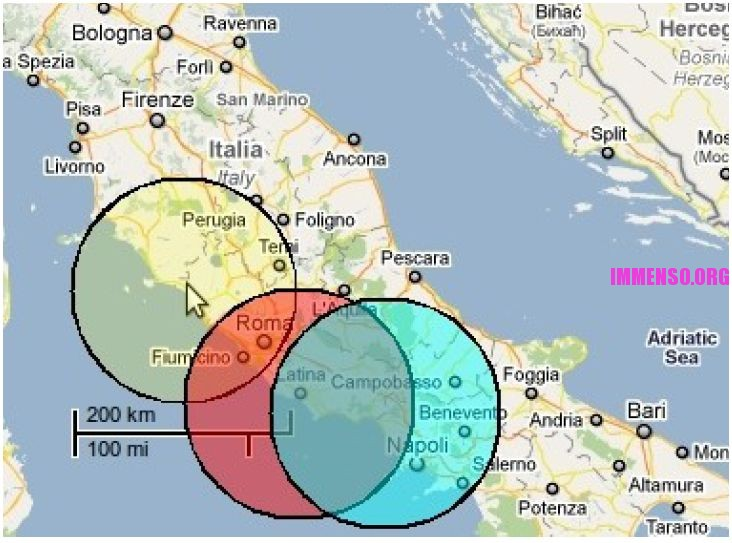 disastro nucleare roma