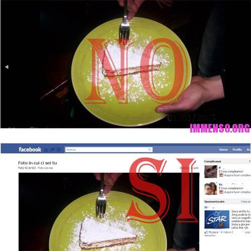 facebook togliere cornice nera