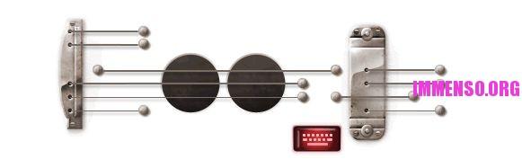 logo google chitarra gibson les paul