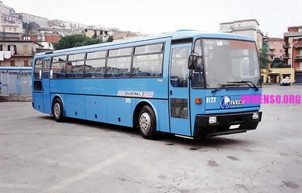 autobus cotral vecchio, ancora in circolazione
