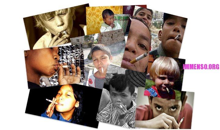 fumo bambini