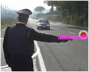 etilometro carabinieri guida in stato d'ebbrezza