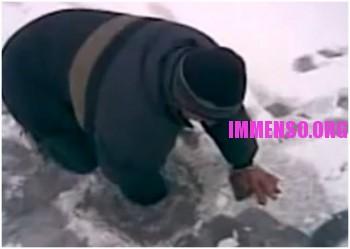 pescanel ghiaccio