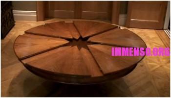tavolo tondo estensibile