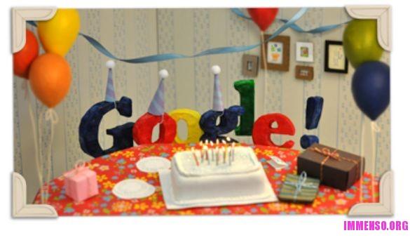 google 13 anni doodle
