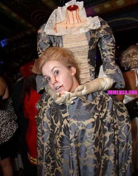 Favoloso Foto: costumi halloween fatti in casa 08 >> Vestiti di Halloween  MH29
