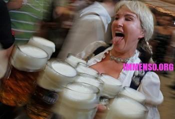 immagini della festa dell'oktoberfest 2011, la fiera e festa della birra più importante del mondo