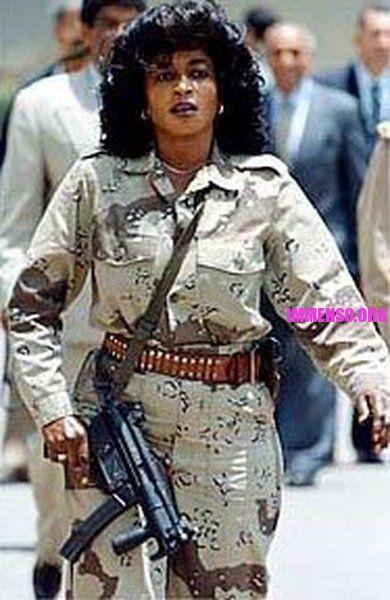 guardia del corpo Gheddafi - amazzone di Gheddafi