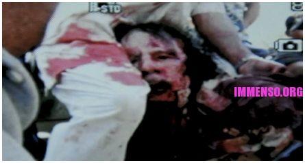 foto di gheddafi morto - fotografia gheddafi ucciso