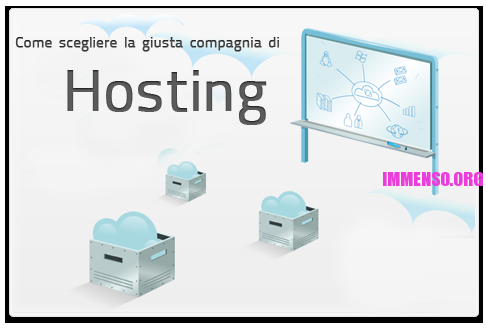 scelta hosting