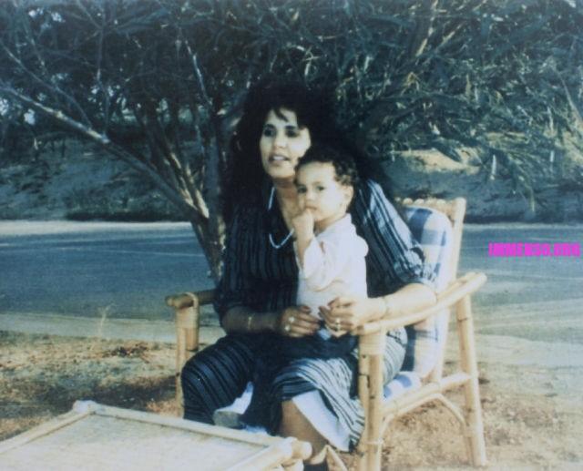 foto vecchie di Gheddafi giovane - famiglia gheddafi