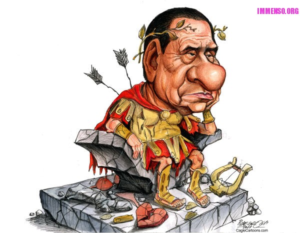 caricatura berlusconi 03