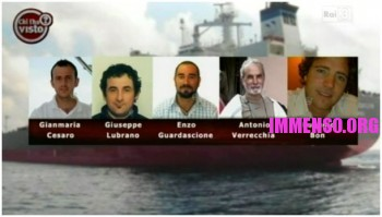 marinai italiani rapiti a bordo della Savina Caylyn