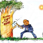 silvio berlusconi caricatura 23