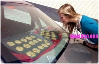 biscotti cotti in auto