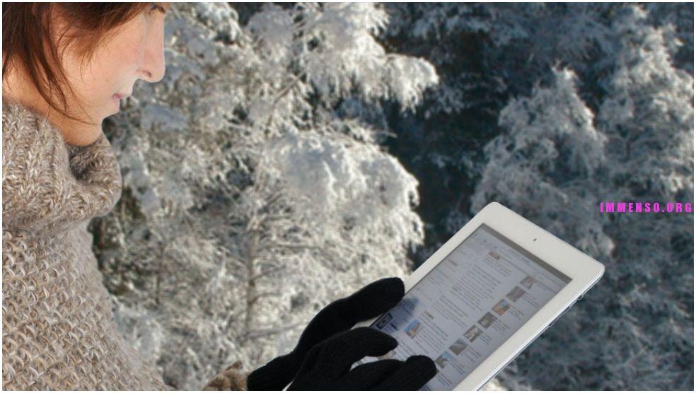 guanti per schermi touchscreen