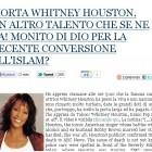 morte whitney houston articolo pontifex