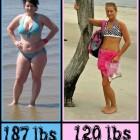 donne prima e dopo la dieta foto 01