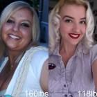 donne prima e dopo la dieta foto 12