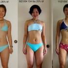 donne prima e dopo la dieta foto 18