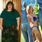 donne prima e dopo la dieta foto 19