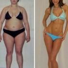 donne prima e dopo la dieta foto 25