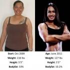 donne prima e dopo la dieta foto 28