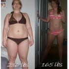 donne prima e dopo la dieta foto 32