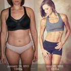 donne prima e dopo la dieta foto 33