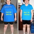 donne prima e dopo la dieta foto 34