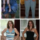 donne prima e dopo la dieta foto 43