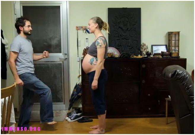 timelapse gravidanza video
