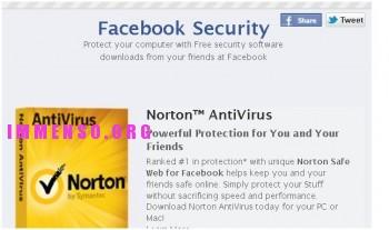 antivirus facebook