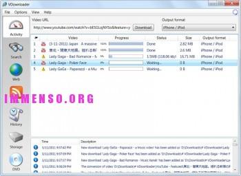 vdownloader funzionamento download