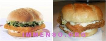 Burger King BK Big Fish 350x135