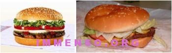 Burger King Whopper 350x108