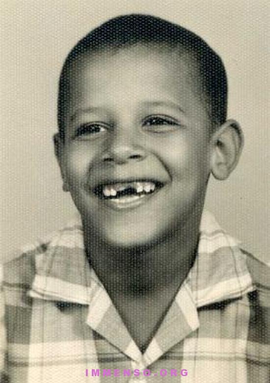 obama foto da bambino 29