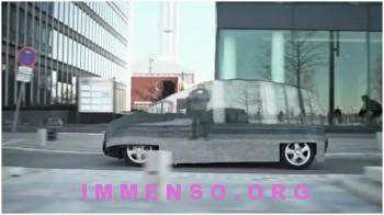auto invisibile
