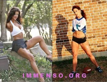 donna senza braccia sport foto 02 350x267