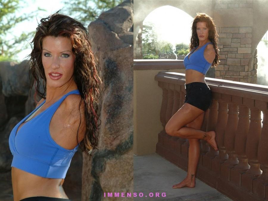donna senza braccia sport foto 03