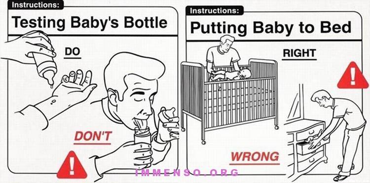 istruzioni per diventare bravi genitori
