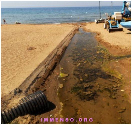 mare inquinato lazio