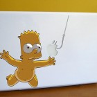 stickers-apple-bart-simpson