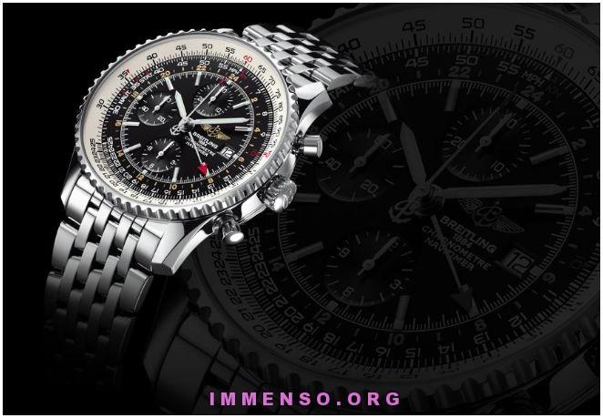 cronografo di lusso Breitling Navitimer World