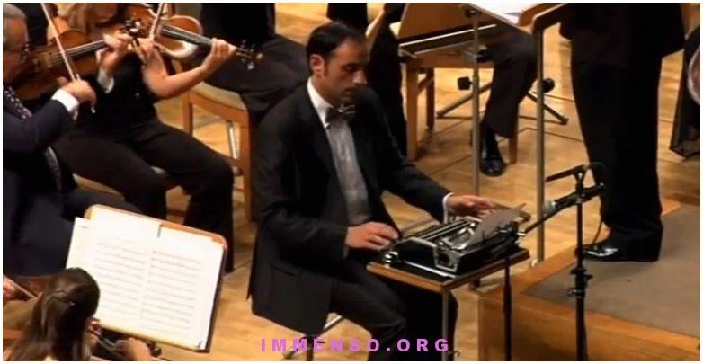 macchina da scrivere jerry lewis orchestra